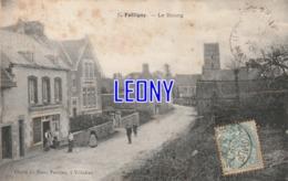 CPA De  FOLLIGNY   (50) - Le BOURG N° 5 - Cliché Du BAZAR PARISIEN - ANIMATIONS  1906- TIMBRES TAXES - Francia
