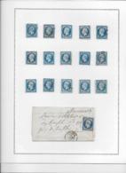 France N°14 - Collection Vendue Page Par Page - 1853-1860 Napoléon III