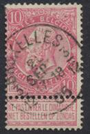 "Fine Barbe - N°58 Obl Simple Cercle ""Bruxelles 3/12"" - 1893-1900 Schmaler Bart"