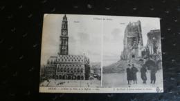 L'Oeuvre Des Boches -ARRAS - L'Hôtel De Ville Et Le Beffroi - Guerra 1914-18
