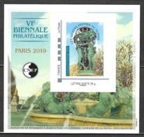 France - Bloc CNEP 2019 - N° 80 ** - Les Quatre Parties Du Monde - - CNEP