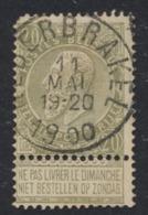 """Fine Barbe - N°59 Obl Simple Cercle """"Nederbrakel"""" - 1893-1900 Schmaler Bart"""