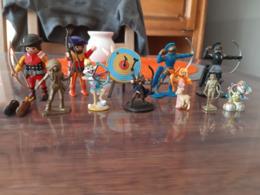 Très Beau Lot De Figurines - Tir à L'Arc