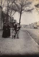 Photo Originale 13 Avril 1914 Saint Berthevin Mayenne Famille Desille Gandon De Laval - Plaatsen