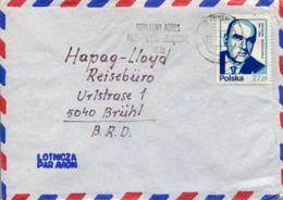 Polonia (1985) - Busta Per La Germania - 1944-.... Repubblica