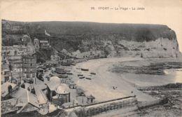 Yport (76) - La Plage - La Jetée - Yport
