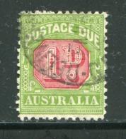 AUSTRALIE- Taxe Y&T N°57- Oblitéré - Segnatasse