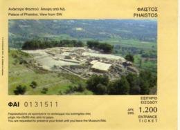 Tickets - Ticket - Palace Of Phaistos - Greece - Tickets - Vouchers