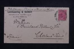 BOLIVIE - Enveloppe Commercial De La Paz Pour La France En 1900 Via Buenos Aires, Affranchissent Plaisant - L 45630 - Bolivie