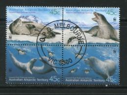 TERRITOIRE ANTARCTIQUE AUSTRALIEN- Y&T N°145 à 148- Oblitérés - Territorio Antartico Australiano (AAT)