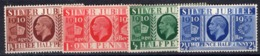 Gran Bretagna - 1936 - Silver Jubilee N° 201/04 - MNH - A004 - Nuovi