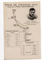 CYCLISME TOUR  DE  FRANCE 1913 PETIT BRETON ETAPE LONGWY BELFORTH - Cycling
