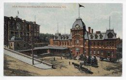 I.C.R. Station And King Edward Hotel, Halifax, N.S, - Halifax