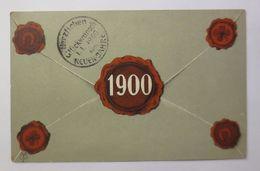 """""""Neujahr, Jahreszahl, Siegel, Brief"""" 1900 ♥ (42612) - New Year"""