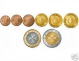 Malta  2015     Set Van 1ct Tot 2 Euro (8 Munten)     UNC Uit De BOX   UNC Du Coffret ZEER Zeldzaam-extréme Rare !!! - Malte