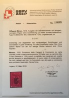 Merano 1918 Sa. 12A = 10000€ RR ! (Österreich Hilfpost Meran Tirol Lokalpost Italy Local Post Italia Trentino H.Avi - Merano