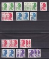 TIMBRE FRANCE/ N° 2219/2220/2221/2274/2275/2276  NEUF SANS CHARNIERE ET OBLITERE COTE  26 EURO - Autres
