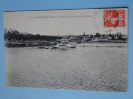 ANDRESY  (Yvelines) -- Bateau Promenade à Fin D'Oise - Jonction De La Seine Et De L'Oise - Andresy