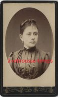 CDV Beau Portrait De Femme, Bel état-photo De L'Eldorado, Langlois à Paris - Ancianas (antes De 1900)