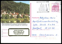 74042) BRD - P 138 - R3/39 - 2900 OO Gestempelt - 6982 Freudenberg, Ortsansicht - Illustrated Postcards - Used