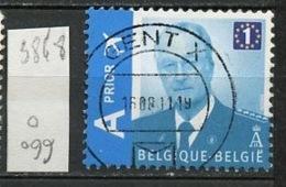 Belgique - Belgium - Belgien 2009 Y&T N°3848 - Michel N°3913 (o) - A Prior Vp1 Albert II - Belgium