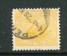 AUSTRALIE OCCIDENTALE- Y&T N°71- Oblitéré (cygnes) - Gebraucht