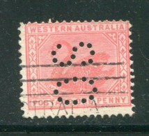 AUSTRALIE OCCIDENTALE- Service Y&T N°36 (A)- Oblitéré (cygnes) - Usados