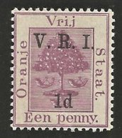Orange Free State 1900. 1d Purple LEVEL STOPS. SACC 50**, SG 102**. - África Del Sur (...-1961)