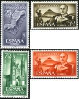 Ref. 189993 * NEW *  - FERNANDO POO . 1961. 25th ANNIVERSARY OF NATIONAL UPRAISING. 25 ANIVERSARIO DEL ALZAMIENTO NACION - Guinea Spagnola