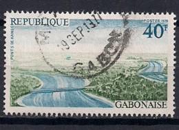 YT N° 354 - Oblitéré - Architecture - Gabon (1960-...)