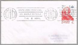 VISITE FERIA REGIONAL DEL MUEBLE EN YECLA - Regional Fair Of FORNITURE. Yecla, Murcia, 1979 - Fábricas Y Industrias