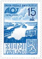 Ref. 103537 * NEW *  - FINLAND . 1949. 75th ANNIVERSARY OF UPU. 75 ANIVERSARIO DE LA UPU - Finlandia