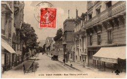 75 TOUT PARIS - Rue Théry - District 16