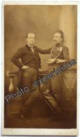 Photo Cdv XIX Militaire Médaille Guerre Crimée Military 1860 LE MANS Sarthe 72 France - Oud (voor 1900)