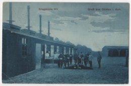 GERMANY Güsten Bei Bernburg 1915, Kriegsküche, Soldaten, Feldpost - Bernburg (Saale)