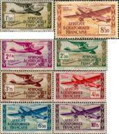 Ref. 608830 * NEW *  - FRENCH EQUATORIAL AFRICA . 1943. AIRCRAFTS. AVIONES - A.E.F. (1936-1958)