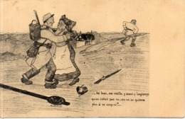 E. PARACIN  - Alsacienne, Soldat Et Allemand   (117586) - Andere Illustrators