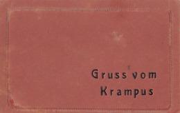 Krampus Devil - Gruss Vom Krampus Old Postcard - Nikolaus