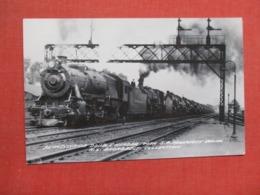 Pennsylvania Double Header With S.P. Prosperity Special  RPPC  >  Ref 3691 - Eisenbahnen