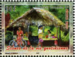 Ref. 179603 * NEW *  - FRENCH POLYNESIA . 2005. DAILY IMAGES. ESCENAS COTIDIANAS - Polinesia Francesa
