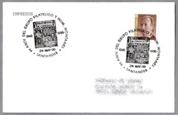 "Matasellos Con Sello ""MILENARIO DE CASTILLA"" De 1944 - 50 Años Grupo Filatelico Montañes. Santander, Cantabria, 1996 - Sellos Sobre Sellos"