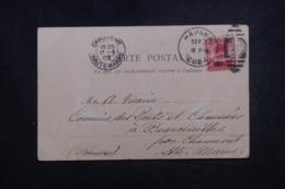 CUBA - Affranchissement De Havana Sur Carte Postale En 1903 Pour La France - L 45648 - Briefe U. Dokumente
