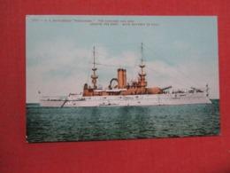 US Battleship Wisconsin   Ref 3691 - Krieg