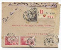 MADAGASCAR - 1943 - LETTRE RECOMMANDEE De ANTALAHA Avec CENSURE ! - Madagascar (1889-1960)
