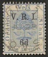 Orange Free State 1900. 6d Op 6d Blue LEVEL STOPS. SACC 56, SG 109. - África Del Sur (...-1961)