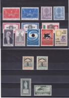 ITALIE 1962 Yvert 862-867 + 871-872 + 875-881 + PA 141 NEUF** MNH Cote : 6,50 Euros - 6. 1946-.. Republik