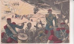 Militaria Patriotique Militaire Illustrateur Vengez Nous 1914 - Patriottisch