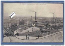 Carte Postale 75. Paris  Usine P. Orsoni  Constructeur  Rue Lemaigan  Trés Beau Plan - France