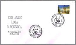 130 Años LOGIA MASONICA. Blumenau SC 2000 - Freimaurerei