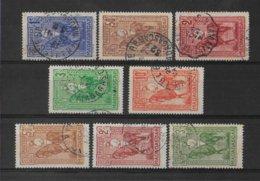 MADAGASCAR - YVERT N° 183/187 + 190/192 SERIES COMPLETES OBLITEREES  - COTE = 22 EUR. - Used Stamps